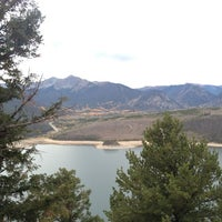 Photo taken at Sapphire Point Overlook by Chris V. on 9/26/2012