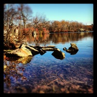 Photo taken at Lincoln Woods State Park by Prunella on 11/4/2012