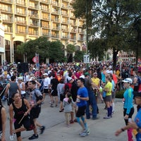 Photo taken at San Antonio Rock N Roll Marathon by Tom M. on 11/11/2012
