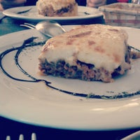 Photo taken at Kalamitsi Restaurante Griega by Jesús L. on 5/11/2013