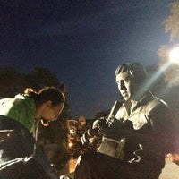 Photo taken at Театральный сквер by shavkunova on 9/18/2013