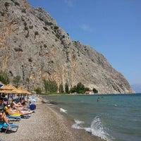 Photo taken at Παραλία Κρυονερίου by Anthi K. on 8/16/2013