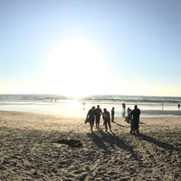 Photo taken at Mission Beach by Jess G. on 3/16/2017