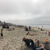 Photo taken at Mission Beach by Jess G. on 3/18/2017