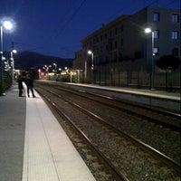 Photo taken at Gare SNCF de Mouans-Sartoux by Christophe F. on 12/6/2012