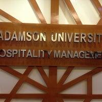 Photo taken at Adamson University D.Hall by Jair Alle Sinchioco on 6/17/2013