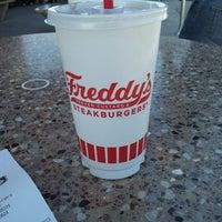 Photo taken at Freddy's Frozen Custard and Steakburgers by Joy L. on 2/23/2013