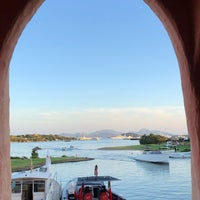 Photo taken at Cala di Volpe by Mohammad S. on 8/12/2018