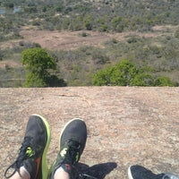 Photo taken at Enchanted Rock State Natural Area by Kelsey O. on 3/25/2013