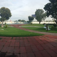 Photo taken at Unidad Deportiva IMSS by Daniel on 7/8/2014
