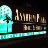 Photo taken at Anaheim Plaza Hotel & Suites by きんぐぴんほーる on 1/4/2013