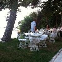 Photo taken at Restaurant Dvor by Alex I. on 6/22/2014
