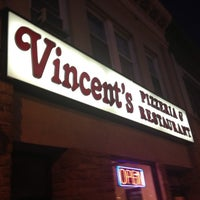Photo taken at Vincent's Italian Restaurant & Pizzeria by Bill M. on 6/5/2013