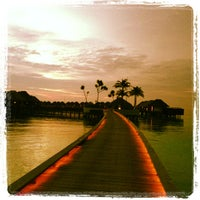 Photo taken at W Retreat & Spa - Maldives by Khalid on 11/8/2012