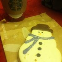 Photo taken at Starbucks by Yessika R. on 12/12/2012