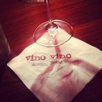 Photo taken at Vino Vino by Yessika R. on 9/21/2012