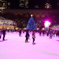 Photo taken at Bank of America Winter Village at Bryant Park by RJ L. on 12/3/2012
