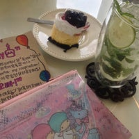 Photo taken at Nine Dessert Cafe by ℓoukρℓα on 6/3/2014