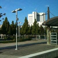 Photo taken at Baylor Medical Center Station (DART Rail) by Marie-Térese C. on 10/21/2012