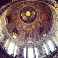 6/4/2013 tarihinde Fernando D.ziyaretçi tarafından Berlin Katedrali'de çekilen fotoğraf