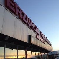 Photo taken at Erzurum Airport (ERZ) by RTE Muammer B. on 6/5/2013