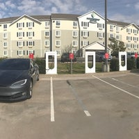 Photo taken at Tesla Supercharger by Pitts P. on 1/16/2017