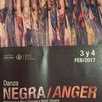 Foto tomada en Teatro Colón por Camilo O. el 2/4/2017