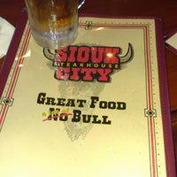 Photo taken at Sioux City Steakhouse by Rena C. on 12/7/2012