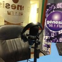 Photo taken at Genesis 98.1 FM by Karen on 10/3/2012