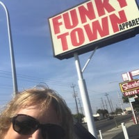 Photo taken at Funky Town by Kathe G. on 9/16/2017