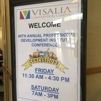 Photo taken at Visalia Convention Center by Kathe G. on 11/4/2016