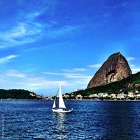 Photo taken at Enseada de Botafogo by '@BrunoSwell ♔. on 4/7/2013