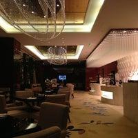 Photo taken at Westin Wuhan Lobby Lounge by liwei l. on 2/4/2013