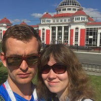 Photo taken at Saransk by Yulia T. on 6/16/2018