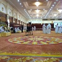 Photo taken at aljewan hall by AbdullA A. on 1/9/2013