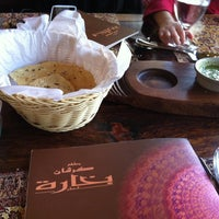 Photo taken at Bukhara Restaurant by AbdullA A. on 2/16/2013