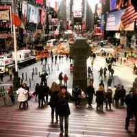 Photo taken at times square NYC by Dilara K. on 11/24/2015