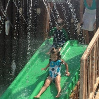 Photo taken at Tanner Park Spray Park by Jaime F. on 7/9/2013