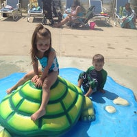 Photo taken at Tanner Park Spray Park by Jaime F. on 7/9/2013