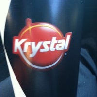 Photo taken at Krystal by Luci.D on 1/7/2013