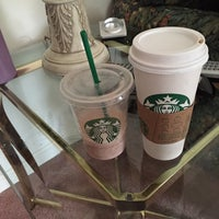 Photo taken at Starbucks by Andrea B. on 1/31/2015