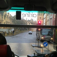 Photo taken at The Airline Bus (OXF to LGW) by Jonathan D. on 12/31/2013