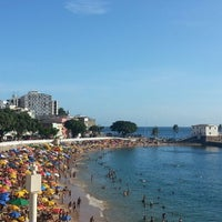 Photo taken at Praia do Porto da Barra by Vitor M. on 3/1/2013