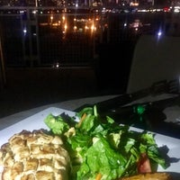 Photo taken at Rivers Edge Rooftop Patio by Kristen W. on 8/1/2017