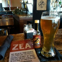 Photo taken at Zea Rotisserie & Grill by Ed S. on 2/26/2016