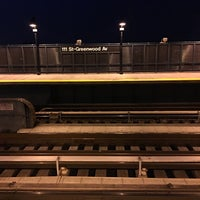 Photo taken at MTA Subway - 111th St/Greenwood Ave (A) by Travis J. on 4/3/2017