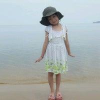 Photo taken at Santubong Beach by nami J. on 9/23/2012