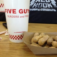 Photo taken at Five Guys by Tammy on 1/2/2013