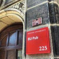 Photo taken at BU Pub by Amanda J. on 4/27/2013