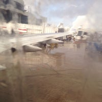 Photo taken at Gate D10 by Silvia S. on 11/23/2013